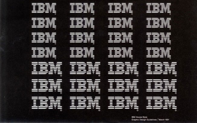 ibm logo creation